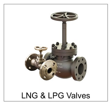 LNG and LPG valves